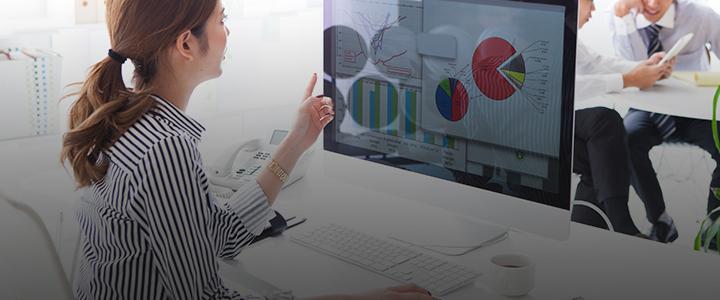 Print management technology for marketing